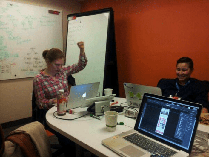 lesbians who tech hackathon