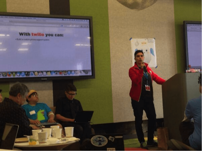twilio lesbians who tech hackathon