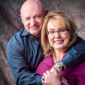 Congresswoman Gabrielle Giffords + Astronaut Mark Kelly