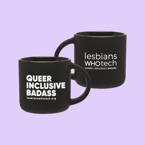 black lesbians who tech queer inclusive badass mug