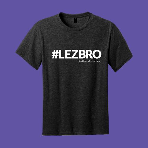 black lezbro tshirt